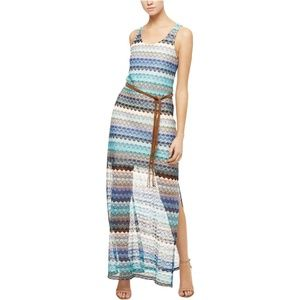 NWT Sanctuary Lace Free Flow Striped Maxi Dress